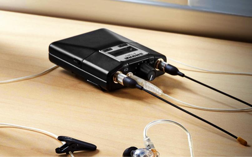 In-Ear Monitoring: Shure verbessert die Performance seiner Taschenempfänger