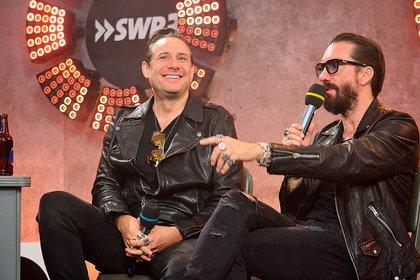 Cowboys im Gespräch - Bilder des Star Talks mit The BossHoss beim SWR3 New Pop Festival 2018