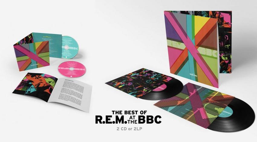 """""""Best of R.E.M.at the BBC"""" ist als 2CD/2LP Ausgabe sowie als Box-Set erhältlich."""