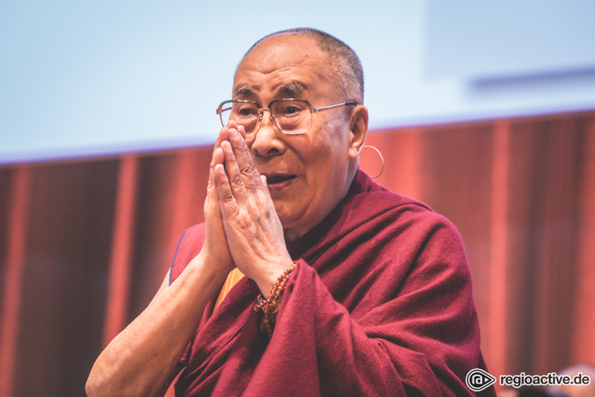 Seine Heiligkeit der 14. Dalai Lama (Symposium der Tibet Initiative Deutschland, Darmstadt, 2018)