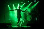 Kunstvoll: Bilder von Laing live beim Reeperbahn Festival 2018