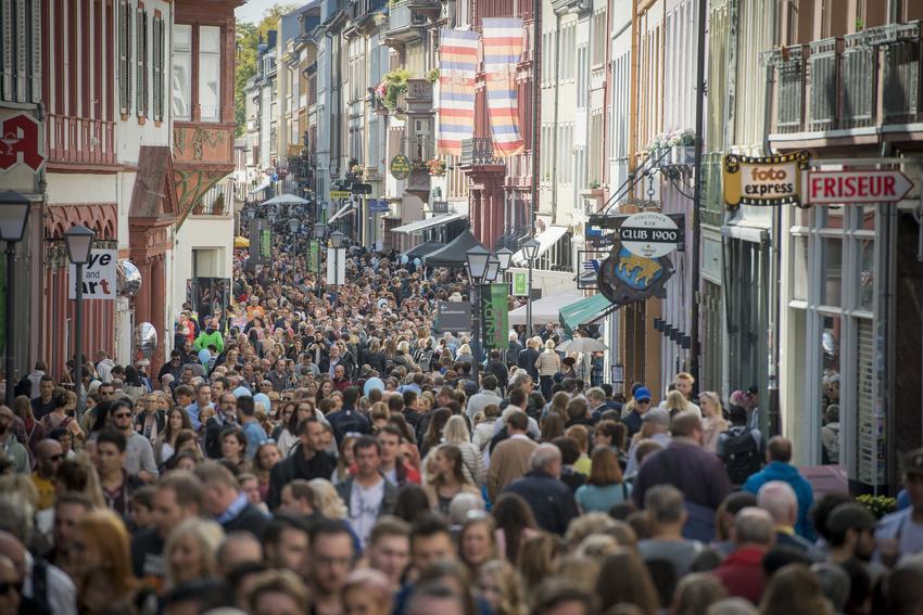 Das große Stadtfest - Der 49. Heidelberger Herbst 2018 lockt die Massen in die Altstadt