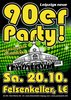 Big 90´s-Party im Felsenkeller Leipzig in Leipzig, Party, 20.10.2018, Felsenkeller Leipzig -