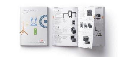 Zweite Ausgabe des Katalogs - Monacor Components: keine Lücken im Programm