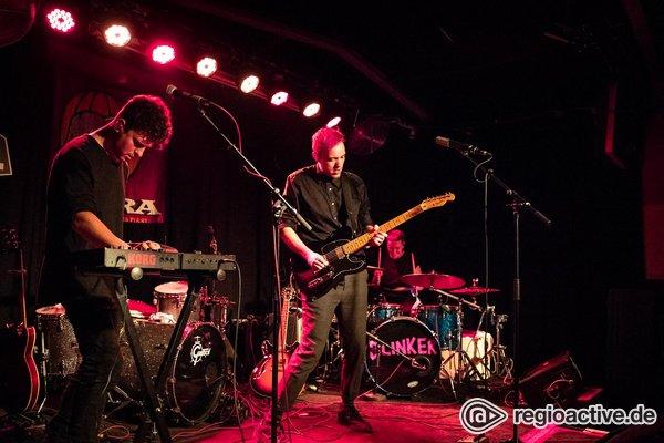 Indie in Pink - Meet the Mannheimers: Fotos von Blinker live beim Reeperbahn Festival 2018