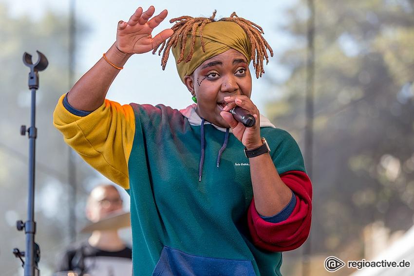Yvonne Mwale (live beim Altstadtfest Frankfurt 2018)