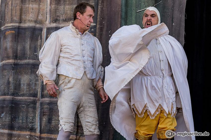 """Die Dramatische Bühne spielt """"Faust"""" (live beim Altstadtfest Frankfurt 2018)"""