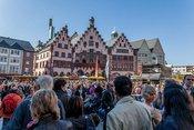 Die Dramatische Bühne spielt Faust: Live-Bilder vom Altstadtfest Frankfurt