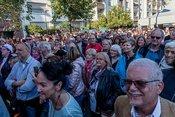 Urgesteine: Live-Bilder der Rodgau Monotones beim Altstadtfest Frankfurt