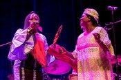 Les Amazones d'Afrique: Bilder des Eröffnungskonzerts von Enjoy Jazz 2018 in Heidelberg