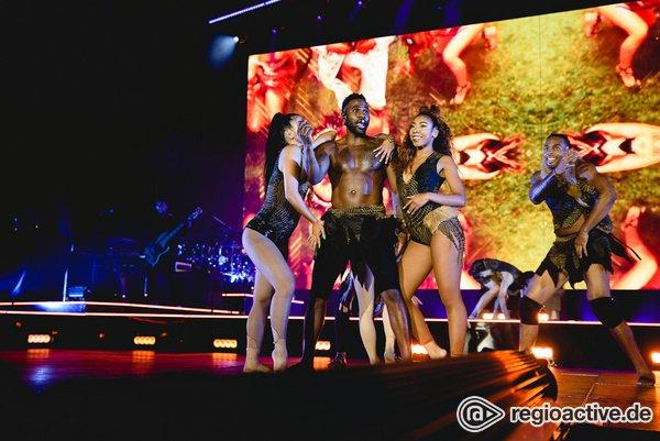 Keine Hemmungen - Leicht bekleidet: Bilder von Jason Derulo live in der Festhalle Frankfurt