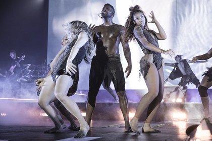Hits, hits, hits - Sexy: Bilder von Jason Derulo live in der Porsche-Arena in Stuttgart