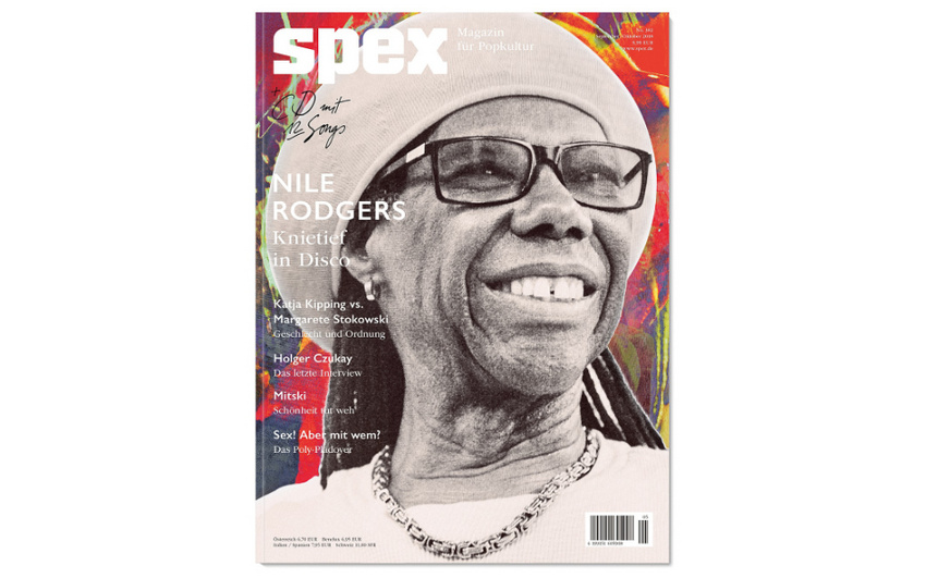 Das Musikmagazin SPEX wird eingestellt und veröffentlicht Ende 2018 seine letzte Ausgabe