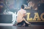 Anti-Flag: Bilder des Headliners beim Antifest 2018 im Schlachthof Wiesbaden