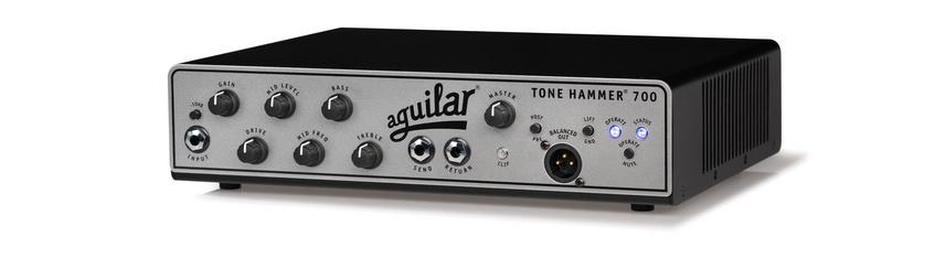 Aguilar Amplification präsentiert den neuen Tone Hammer 700