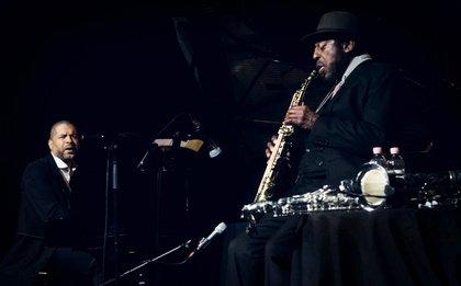 In der Tradition - Bilder von Jason Moran & Archie Shepp live in Mannheim bei Enjoy Jazz 2018