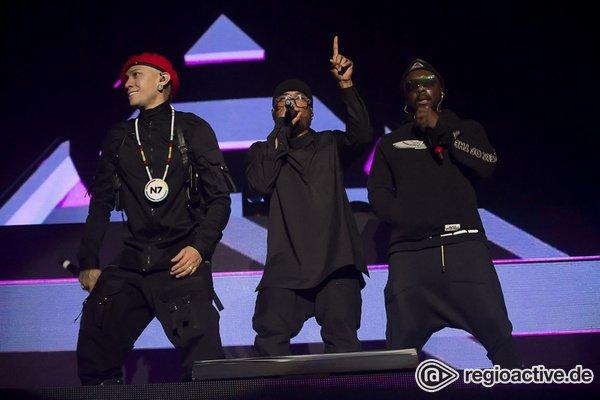 Ein Schritt zurück in die richtige Richtung - Die Black Eyed Peas lassen im Zenith in München das Publikum springen und tanzen
