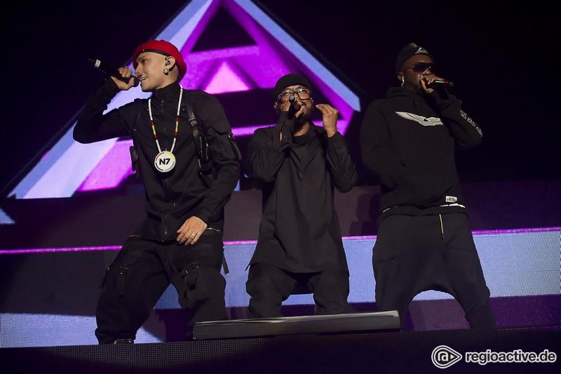 Neue Akzente - Trio plus: Fotos der Black Eyed Peas live im Zenith München