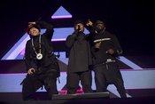 Trio plus: Fotos der Black Eyed Peas live im Zenith München