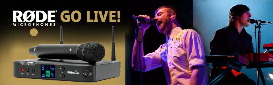 RØDE Go Live: Wer gewinnt das Wireless Performer Kit?