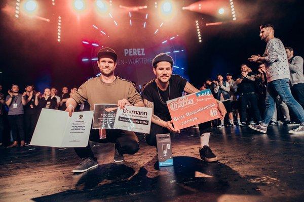 Verdienter Triumph - Hip-Hop-Duo Perez siegt beim Local Heroes Newcomer-Wettbewerb 2018
