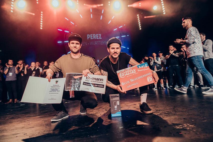 Perez siegen beim Local Heroes Contest 2018