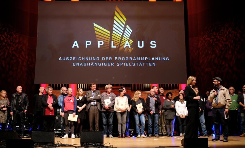 APPLAUS 2018: Spielstätten für herausragende Livemusikprogramme in Mannheim prämiert