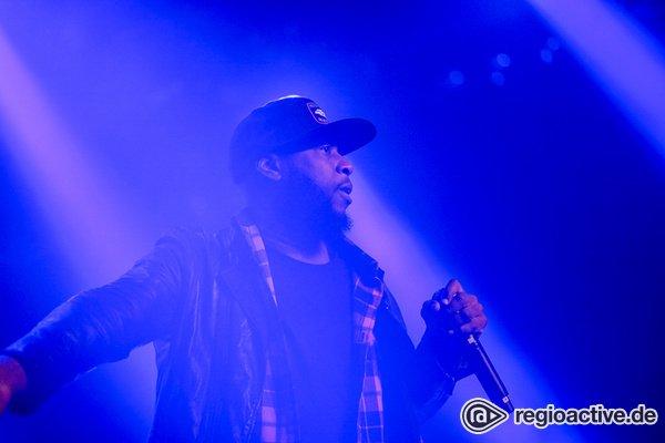 Sozialkritisch - Talib Kweli: Live-Bilder des Rappers in der Alten Feuerwache Mannheim