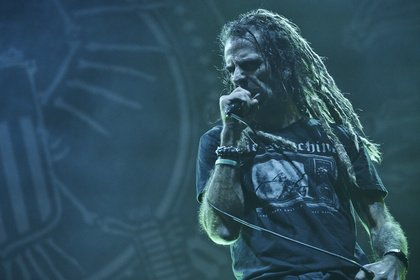 Ehrgebietend - Bilder von Lamb Of God als Special Guests von Slayer live in Freiburg