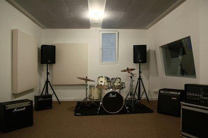 Band-Proberäume in Berlin-Mitte auf Stundenbasis zu vermieten
