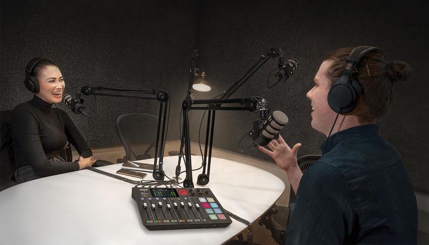 Die neue All-in-One-Produktionskonsole von RØDE erleichtert das Podcasting