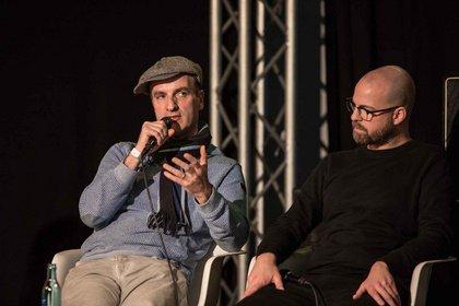 Torch, Jan Delay und Samy Deluxe beim ersten Hip-Hop-Symposium an der Popakademie in Mannheim