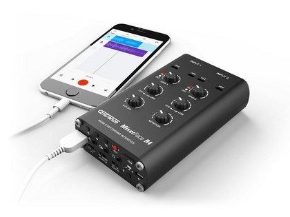 Centrance MixerFace R4R: Hyperactive Audiotechnik bietet mobilen Hi-End-Recorder an