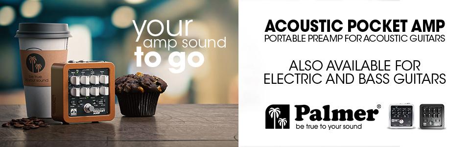 Gewinne einen von zwei Palmer Acoustic Pocket Amps