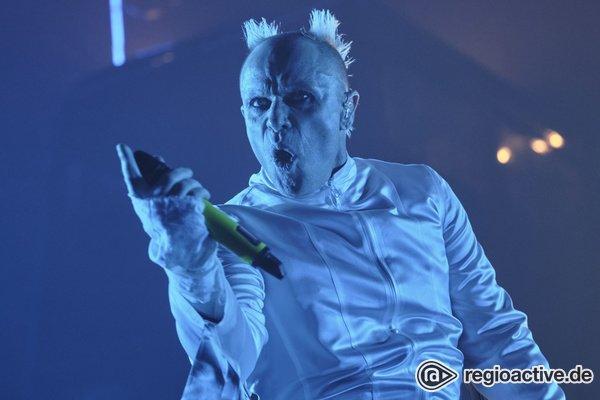 Ausrasten vorprogrammiert - The Prodigy schmeissen in der Festhalle Frankfurt eine fette Rave-Party