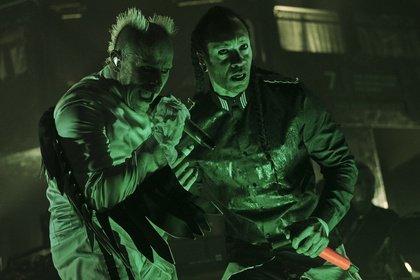 (Nicht) nur auf der Durchreise - Maximal: Fotos von The Prodigy live in der Festhalle Frankfurt
