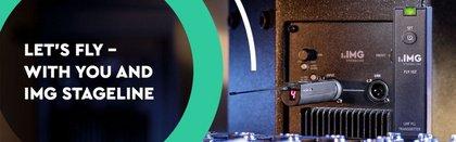 Gewinne eines von zwei IMG Stageline FLY-Sets für drahtlose Audioübertragung