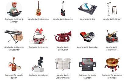 Weihnachten beim Musikhaus Thomann: Geschenke für Musiker auf thomann.de
