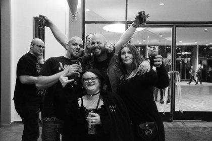 Szenetreff - In Schwarz: Impressionen vom Knock Out Festival 2018 in Karlsruhe