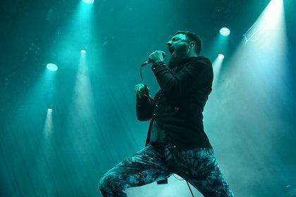 Zum Ausrasten - Caliban: Bilder der Headliner des Knockdown Festivals 2018 in Karlsruhe