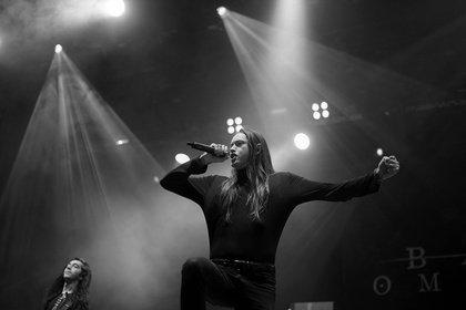 Metalcore-Nachwuchs - Bad Omens: Live-Bilder der US-Amerikaner beim Knockdown Festival 2018