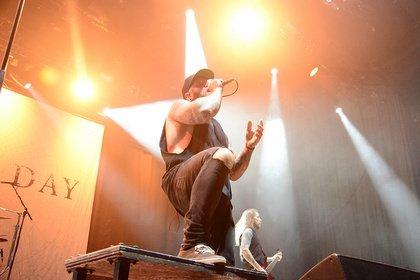 Härte - Progressiv: Live-Bilder von Any Given Day beim Knockdown Festival 2018 in Karlsruhe