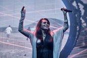 Intensiv: Bilder von Within Temptation live in der Jahrhunderthalle Frankfurt