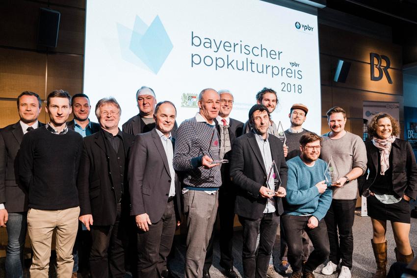 Bayerischer Popkulturpreis 2018 in München in vier Kategorien verliehen