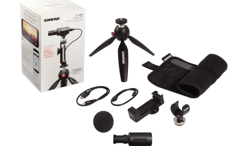 Shure erweitert MOTIV-Serie mit dem MV88+ Video Kit