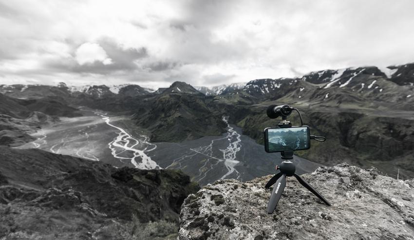 Das neue MV88+ Video Kit im praktischen Einsatz