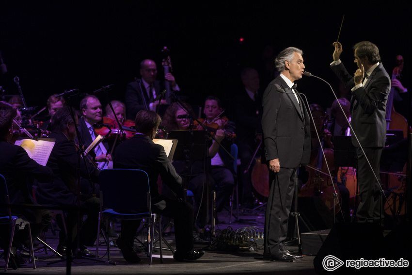 Andrea Bocelli - World Tour, am 11.01.2019 in Stuttgart