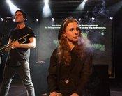 Kontrovers: Bilder von Pussy Riot live im Sudhaus in Tübingen