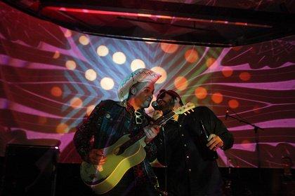 Zu heiß - Forum goes Schlager: Fotos von Metal Jackson live beim 8. Mannheimer Winteraward