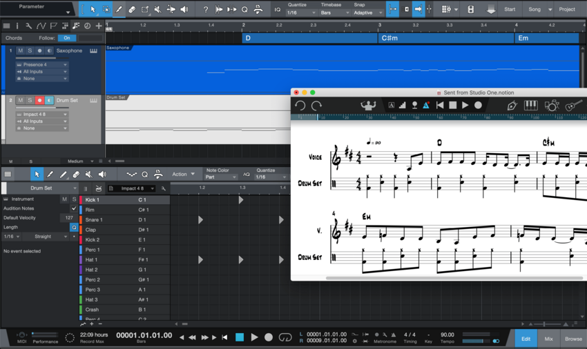PreSonus Notion 6.5